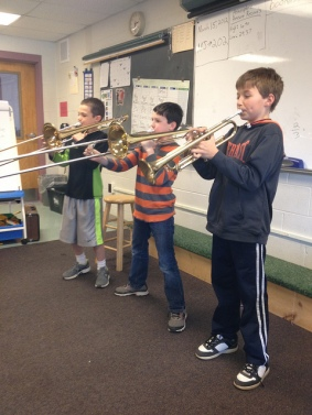 The brass players rule!